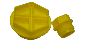 Threaded caps